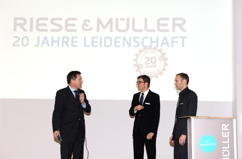 Riese und Müller feiert 20-jähriges Jubiläum, März 2013